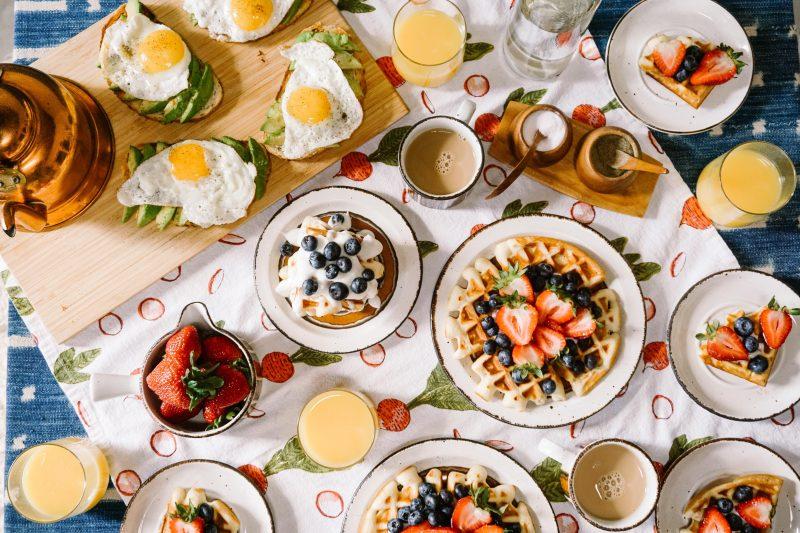 segurança alimentar: comida na mesa