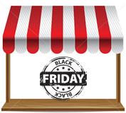 Black Friday merece vitrine e decoração especiais 2