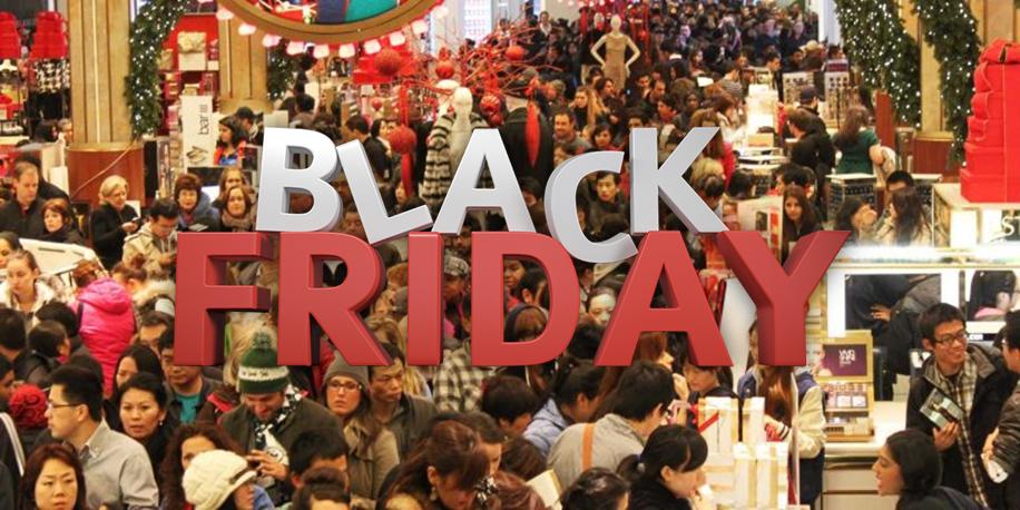 Black Friday merece vitrine e decoração especiais principal