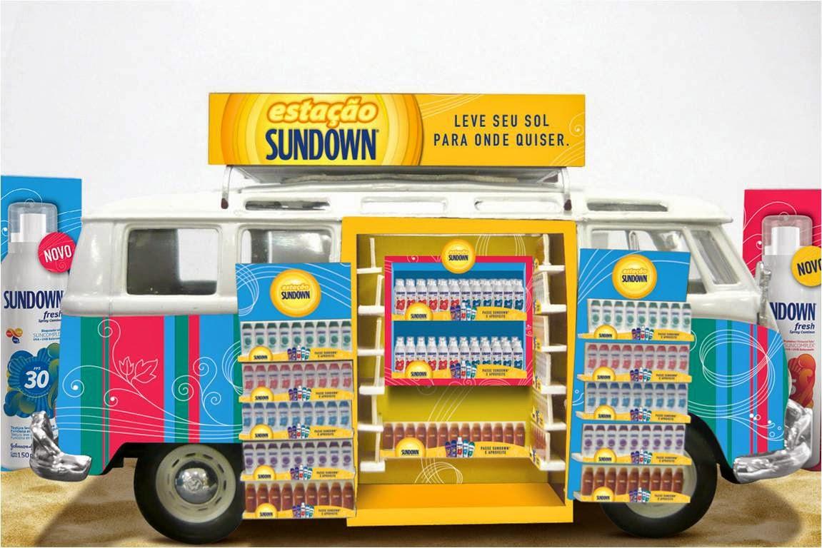 ação de merchandising sundown no PDV