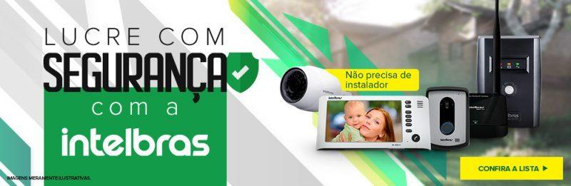 A Intelbrás é lider no mercado de segurança patrimonial. Compre barato e com Cashback no Martins.com.br!