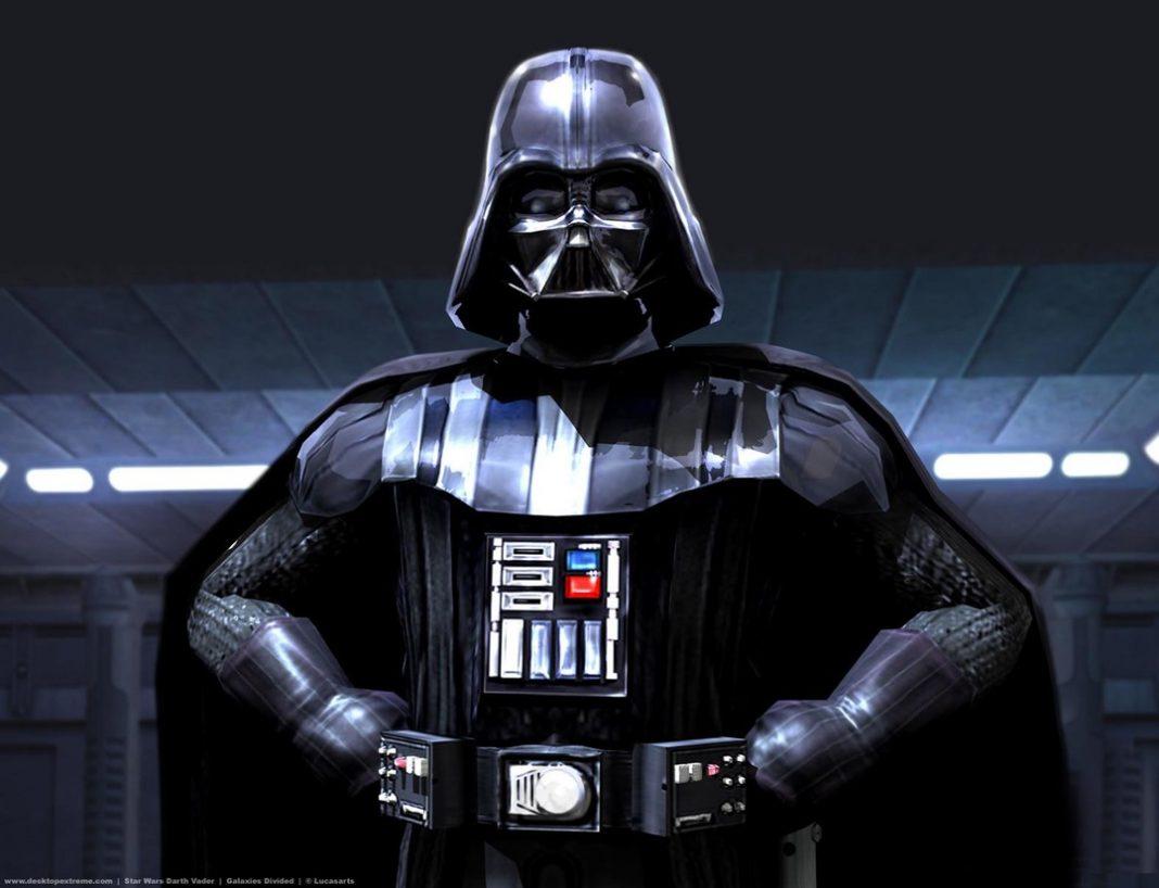 Imagem de Darth Vader, personagem icônico do Dia da Toalha.