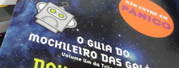 O Guia do Mochileiro das Galáxias, presente para o Dia da Toalha.
