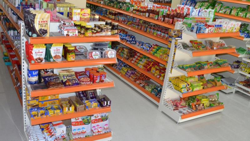 Gôndolas de supermercado