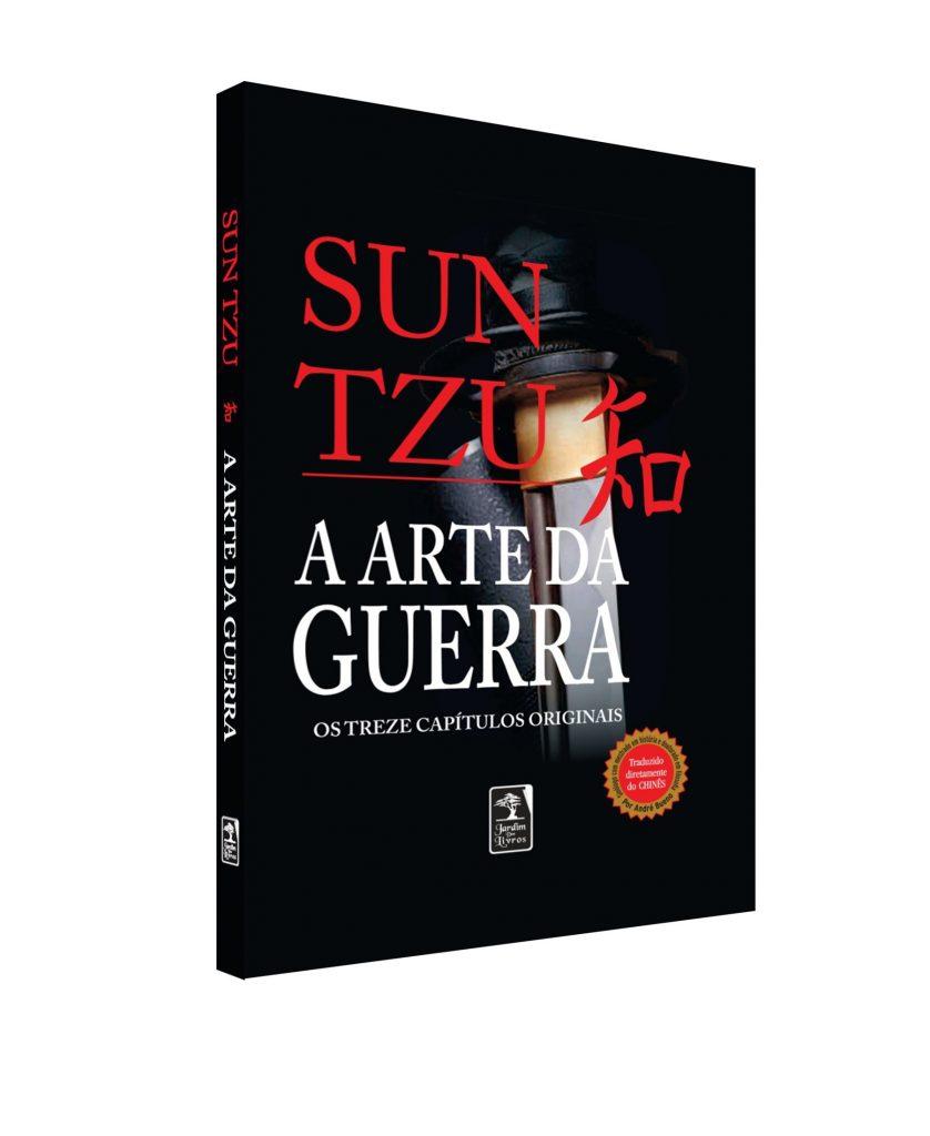 Capa do livro A Arte da Guerra do autor Sun Tzu.