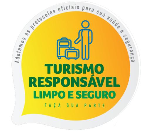 Selo Turismo responsável criado pelo Ministério do Turismo.