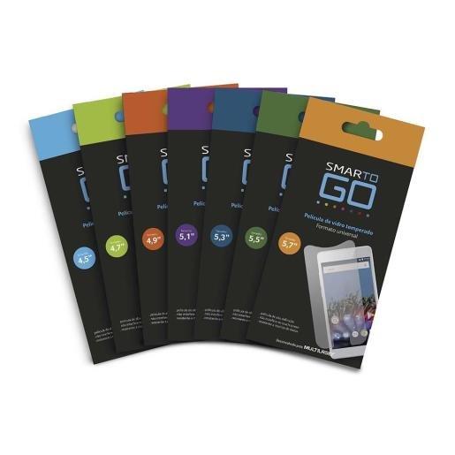 Películas de smartphone SmarToGo da Multilaser.