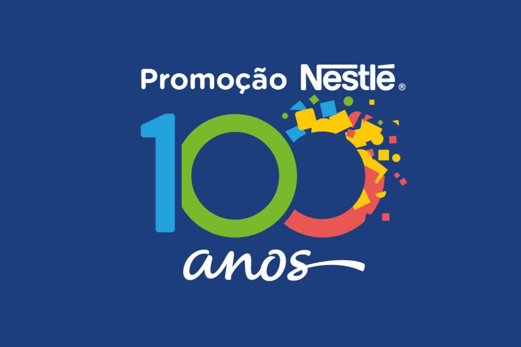 imagem que ilustra a promoção 100 anos Nestlé