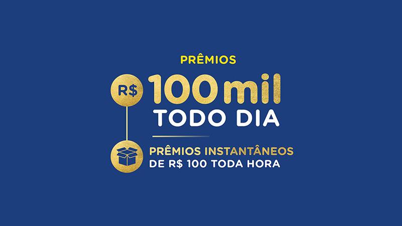 imagem que ilustra os prêmios da promoção 100 anos Nestlé