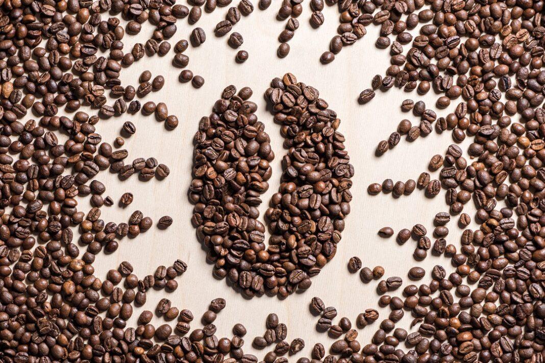 símbolo de grão de café