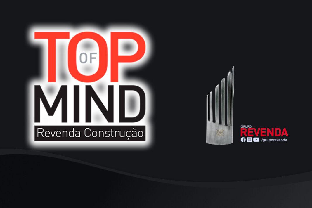 arte do top of mind 2021 do Grupo Revenda