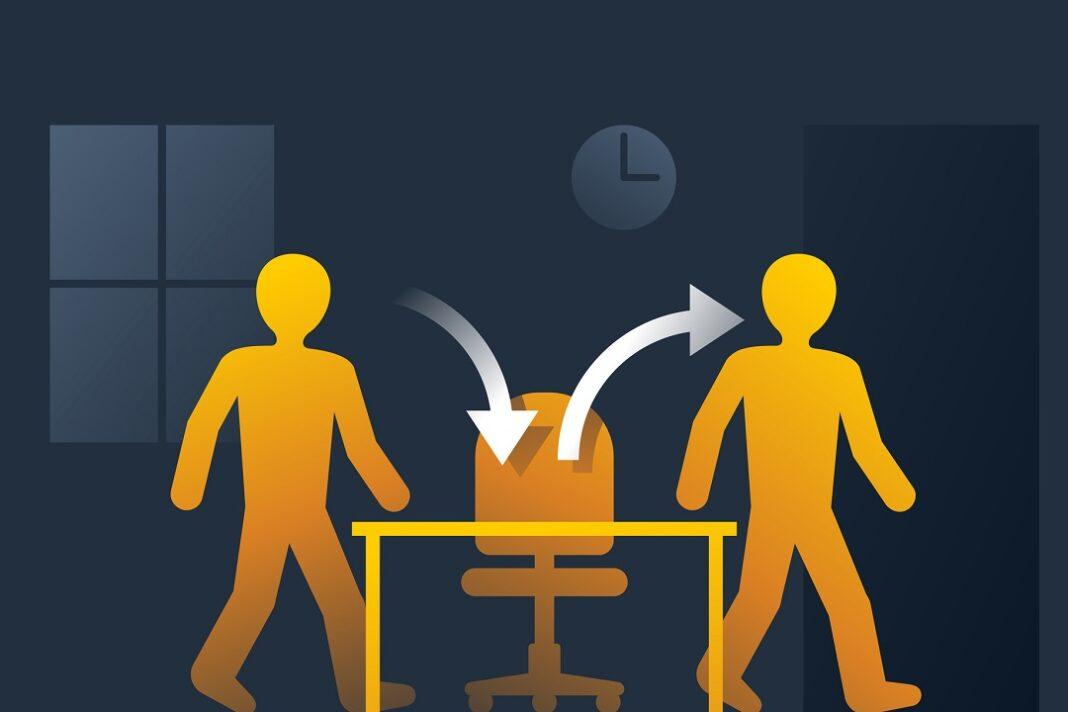 rotatividade de trabalhadores